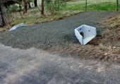 End wall driveway installations & replacements